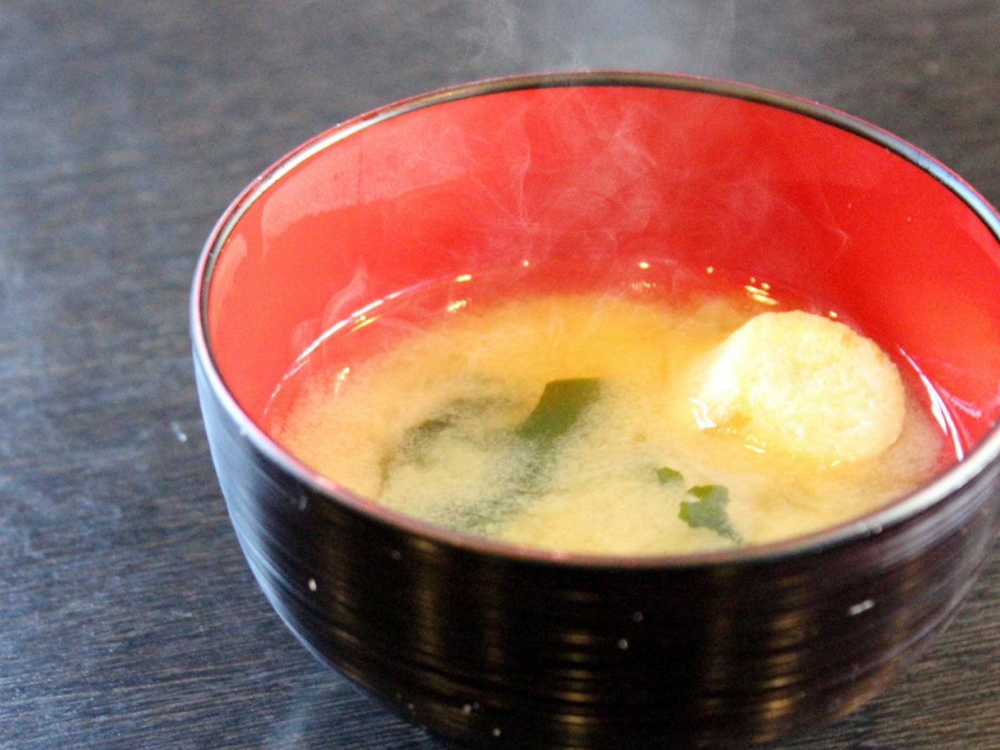 心温まるお味噌汁
